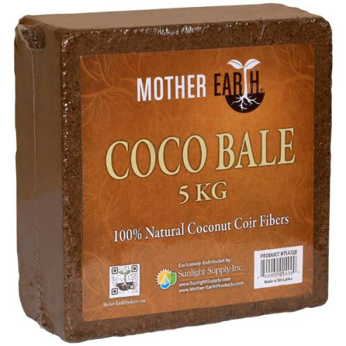Mother Earth Coco Bale 5kg-NWGSupply.com