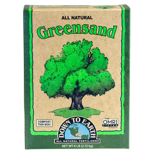 Down To Earth Greensand - 6 lb-NWGSupply.com