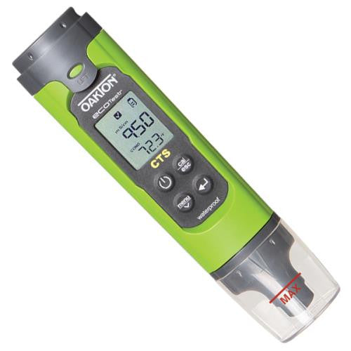 Oakton EcoTester CTS Pocket Conductivity, Salinity, and TDS Meter-NWGSupply.com