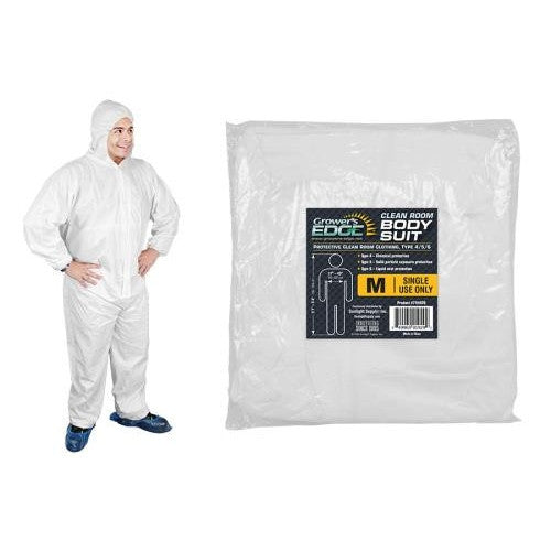 Grower's Edge Clean Room Body Suit - Size M-NWGSupply.com