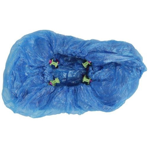 Grower's Edge Plastic Shoe Cover (100/pack)-NWGSupply.com