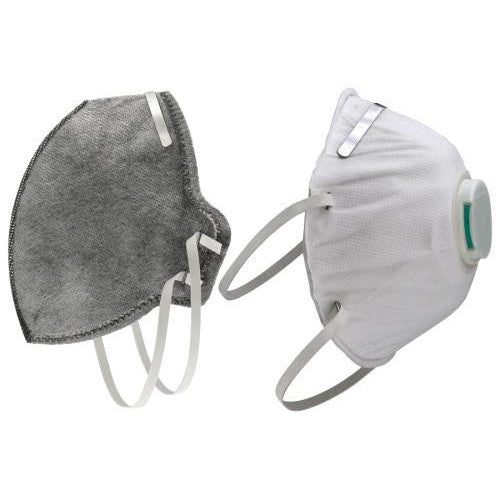 Grower's Edge Clean Room Vertical Fold-Flat Active Carbon Respirator Mask-NWGSupply.com