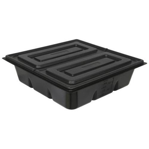 Flo-n-Gro 100 Gal Res Lid (2 Pieces) - White-NWGSupply.com