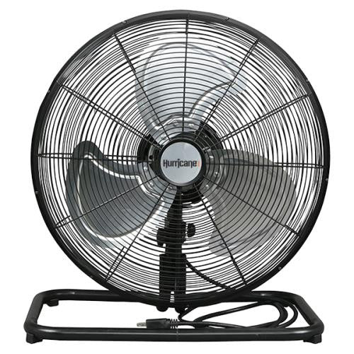 Hurricane Pro High Velocity Metal Floor Fan 18 in-NWGSupply.com