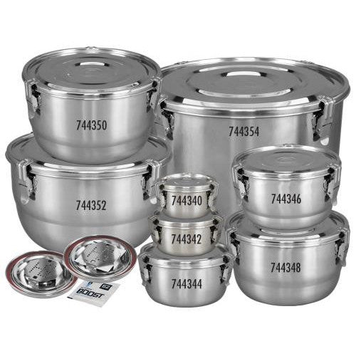 HumiGuard Clamp Sealing Stainless Container - 2 L-NWGSupply.com