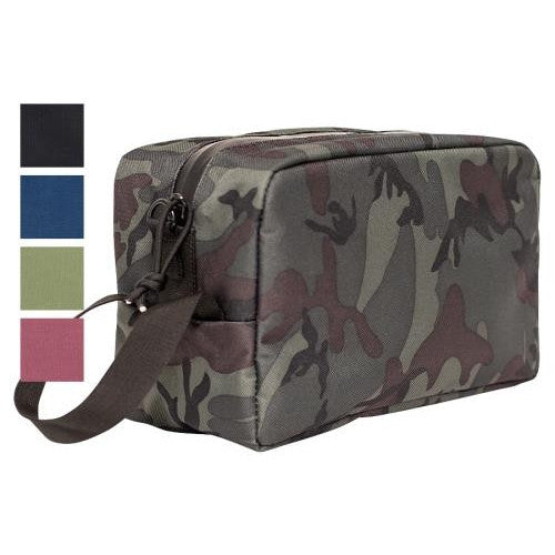 Abscent Toiletry Bag - Crimson-NWGSupply.com