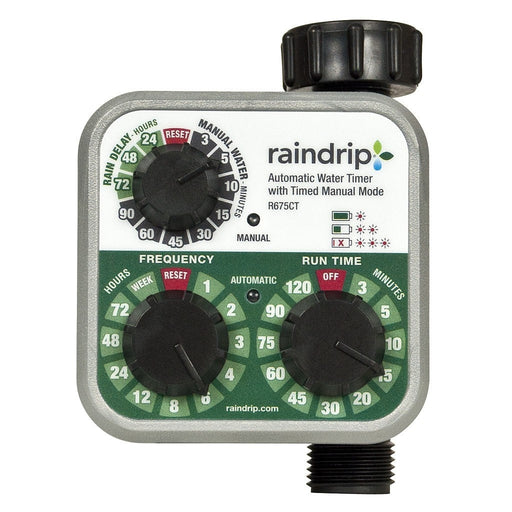 Raindrip Electronic Water Timer-NWGSupply.com