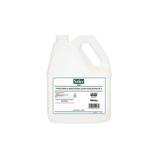 Safer Pyrethrin & Insecticidal Soap II Conc. Gallon (QR)-NWGSupply.com