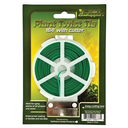 Smart Support Plant Twist Tie w/ Cutter, 164'-NWGSupply.com