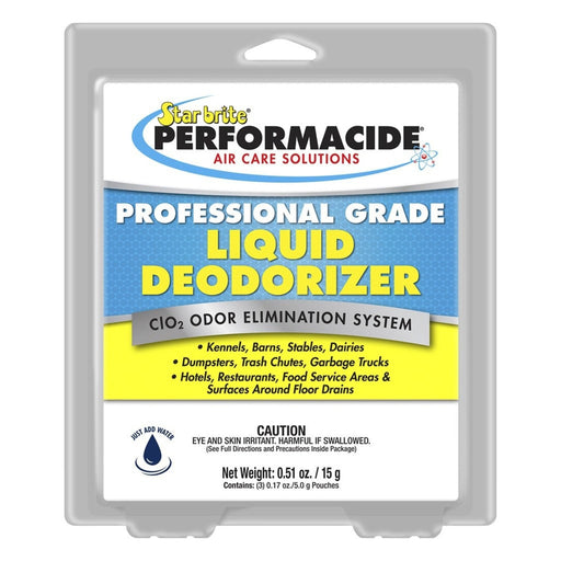 Star Brite Performacide Professional Liquid Deodorizer 3/Pack Gallon Refill Kit-NWGSupply.com