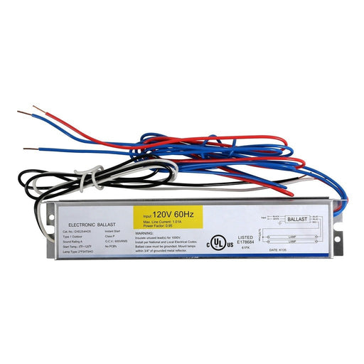 Ballast Replacement T5 HO 2 x 54 Watt - 120 Volt-NWGSupply.com