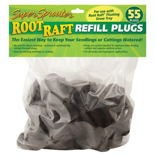 Super Sprouter Root Raft Replacement Plugs 55 ct-NWGSupply.com