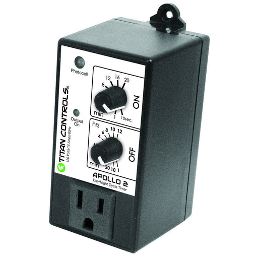 Titan Controls Apollo 2 - Cycle Timer w/ Photocell-NWGSupply.com
