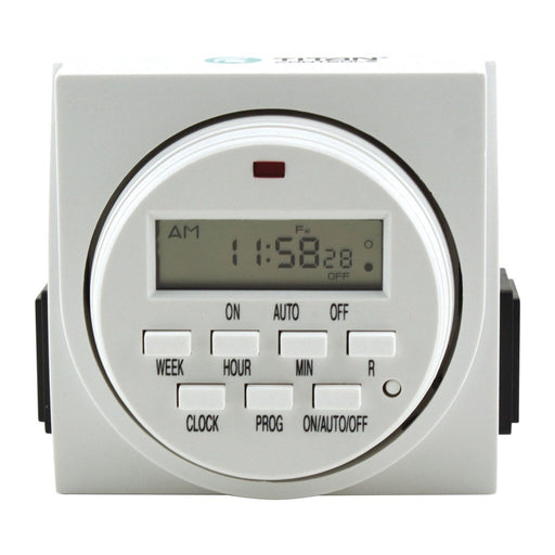 Titan Controls Apollo 9 - Two Outlet Digital Timer-NWGSupply.com