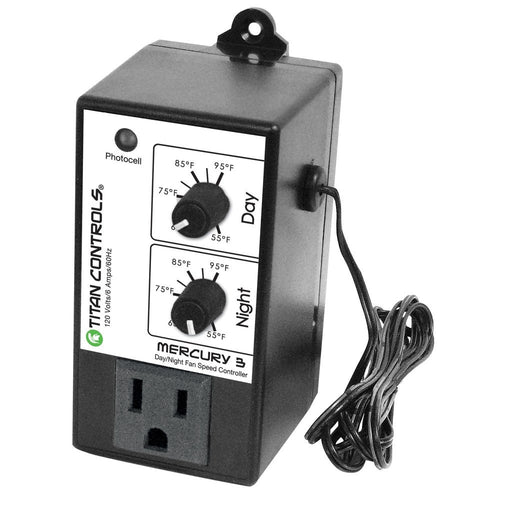 Titan Controls Mercury 3 - Day/Night Fan Controller-NWGSupply.com