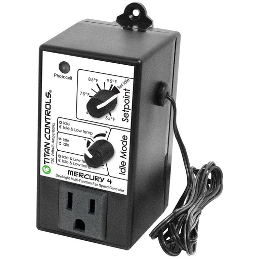 Titan Controls Mercury 4 - Multi Function Fan Speed Controller-NWGSupply.com