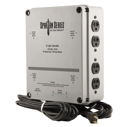 Titan Controls - Spartan Series 8 Light Controller - 240 Volt-NWGSupply.com