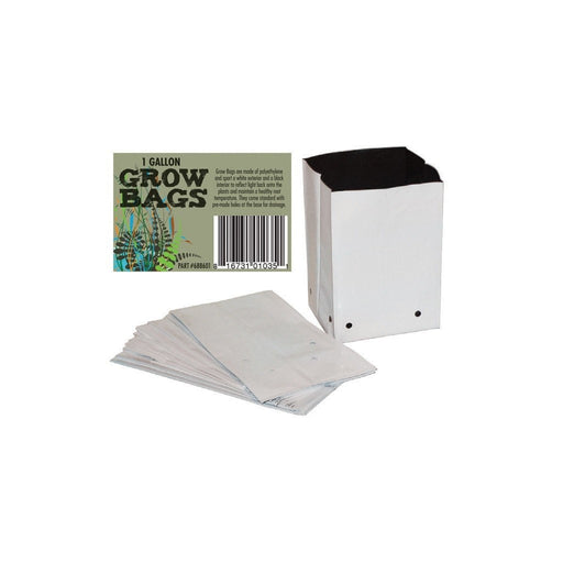1 Gallon PE Film Grow Bags (100 bags)-NWGSupply.com