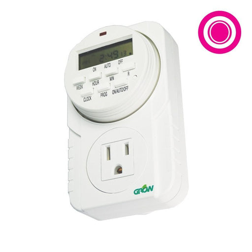 120V Single Outlet Digital Timer-NWGSupply.com