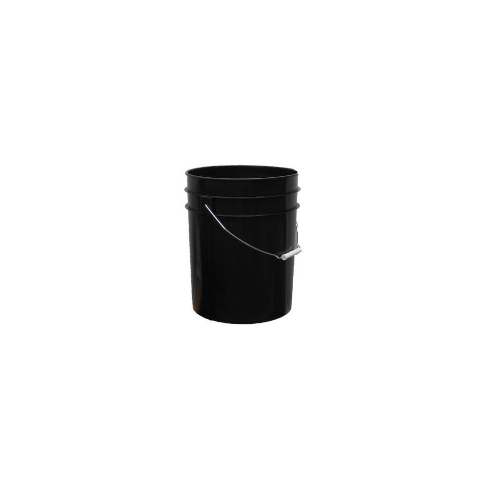 2 Gallon Black Bucket w/ handle-NWGSupply.com