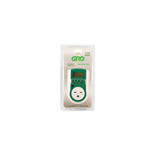 240V Single Outlet Digital Timer-NWGSupply.com