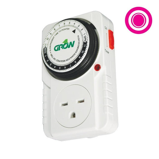 240V Single Outlet Mechanical Timer-NWGSupply.com