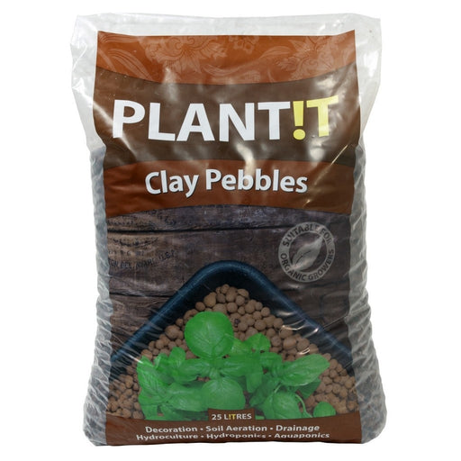 PLANT!T Clay Pebbles 25L 8mm-16mm-NWGSupply.com