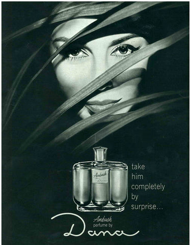 Dana Ambush Cologne Ad 1963
