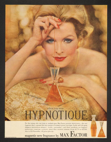 Max Factor Hypnotique 1958