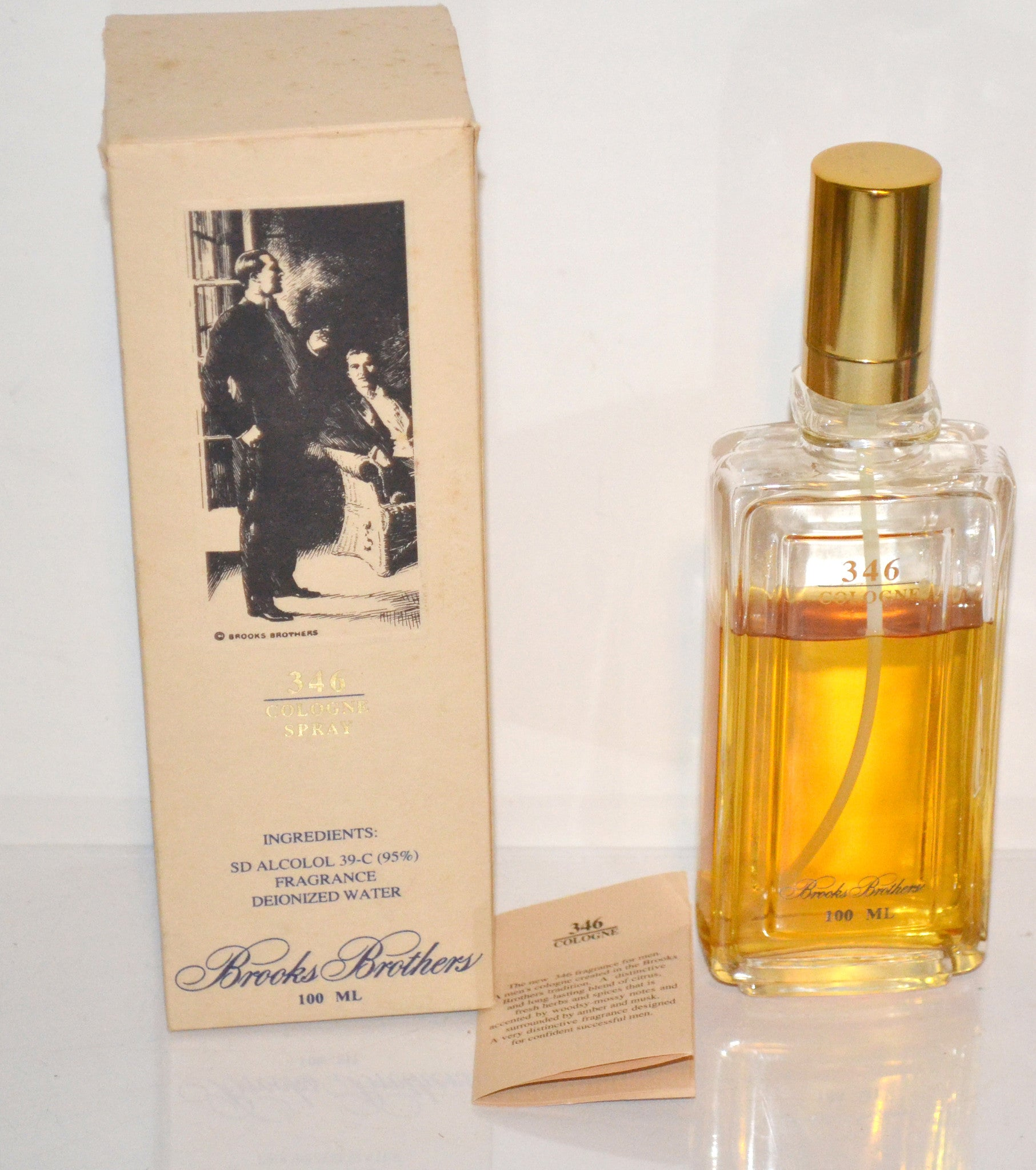 346 Cologne By Brooks Brothers