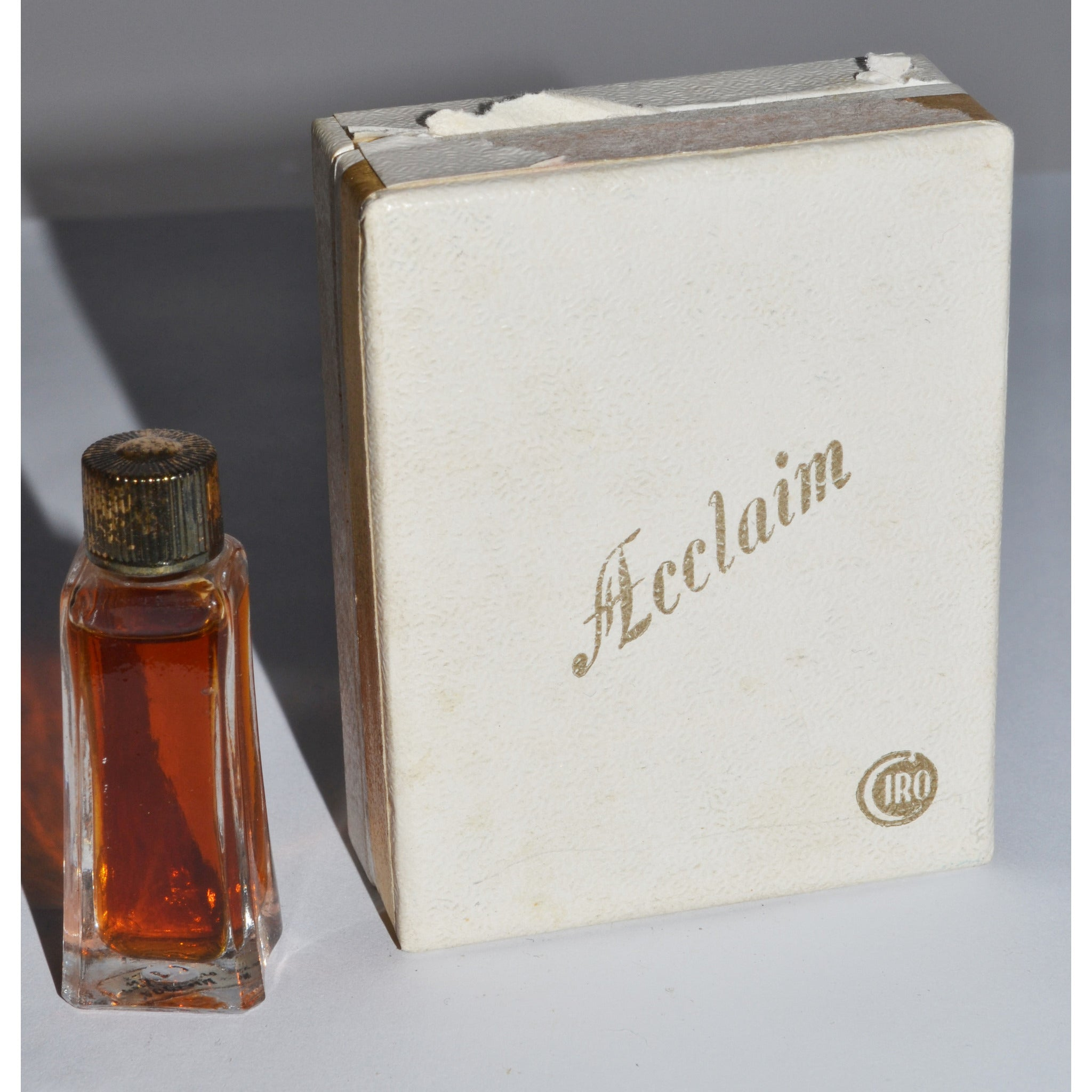 Vintage Acclaim Perfume Mini By Ciro