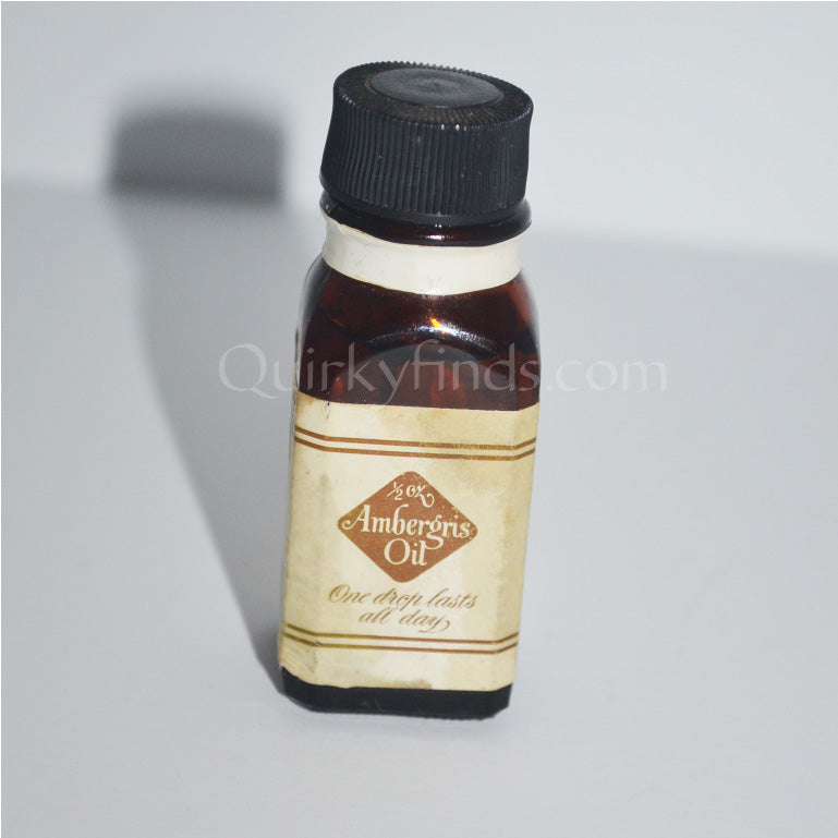 Vintage Ambergris Perfume Oil By Caswell-Massey