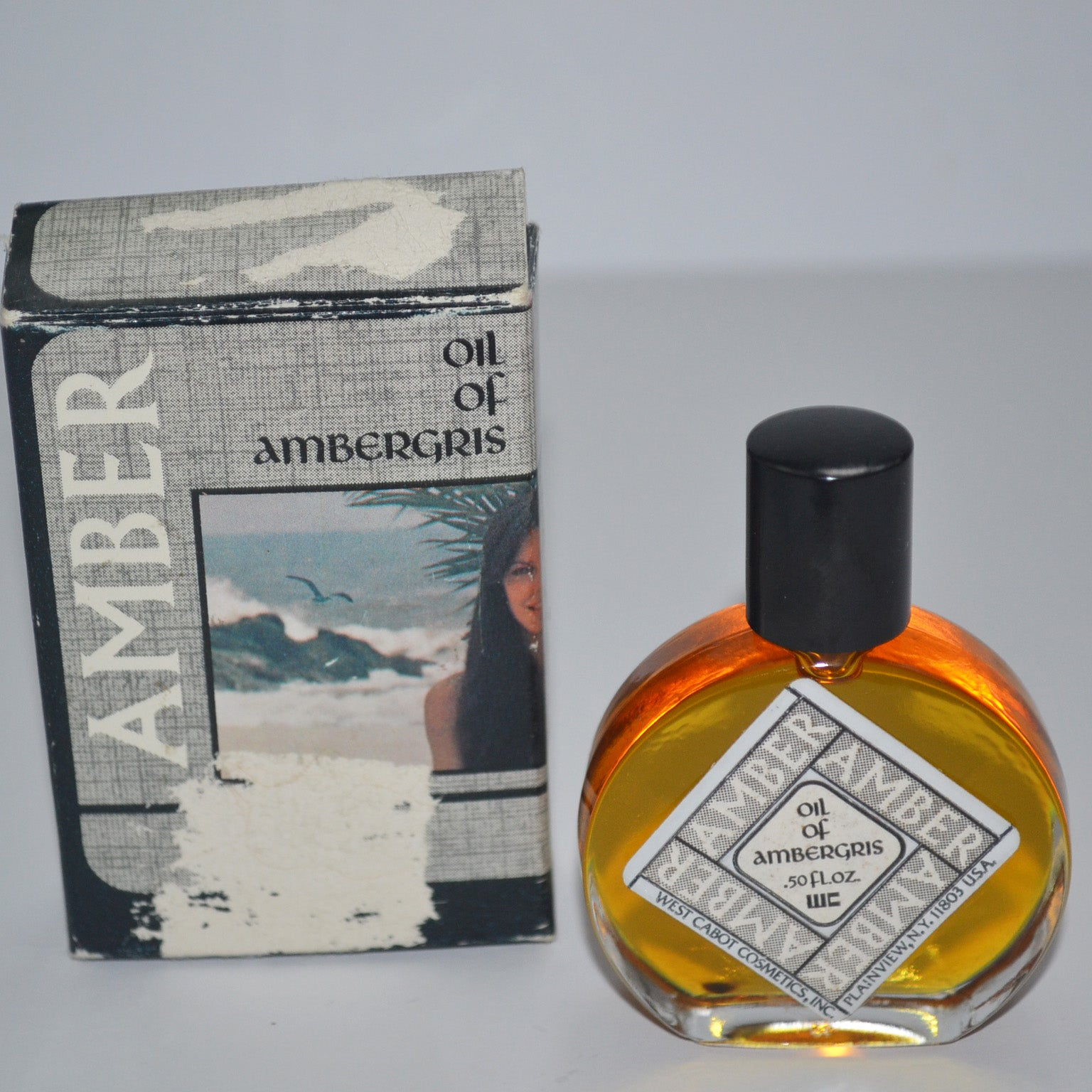 Vintage Amber Oil of Ambergris By West Cabot Cosmetics