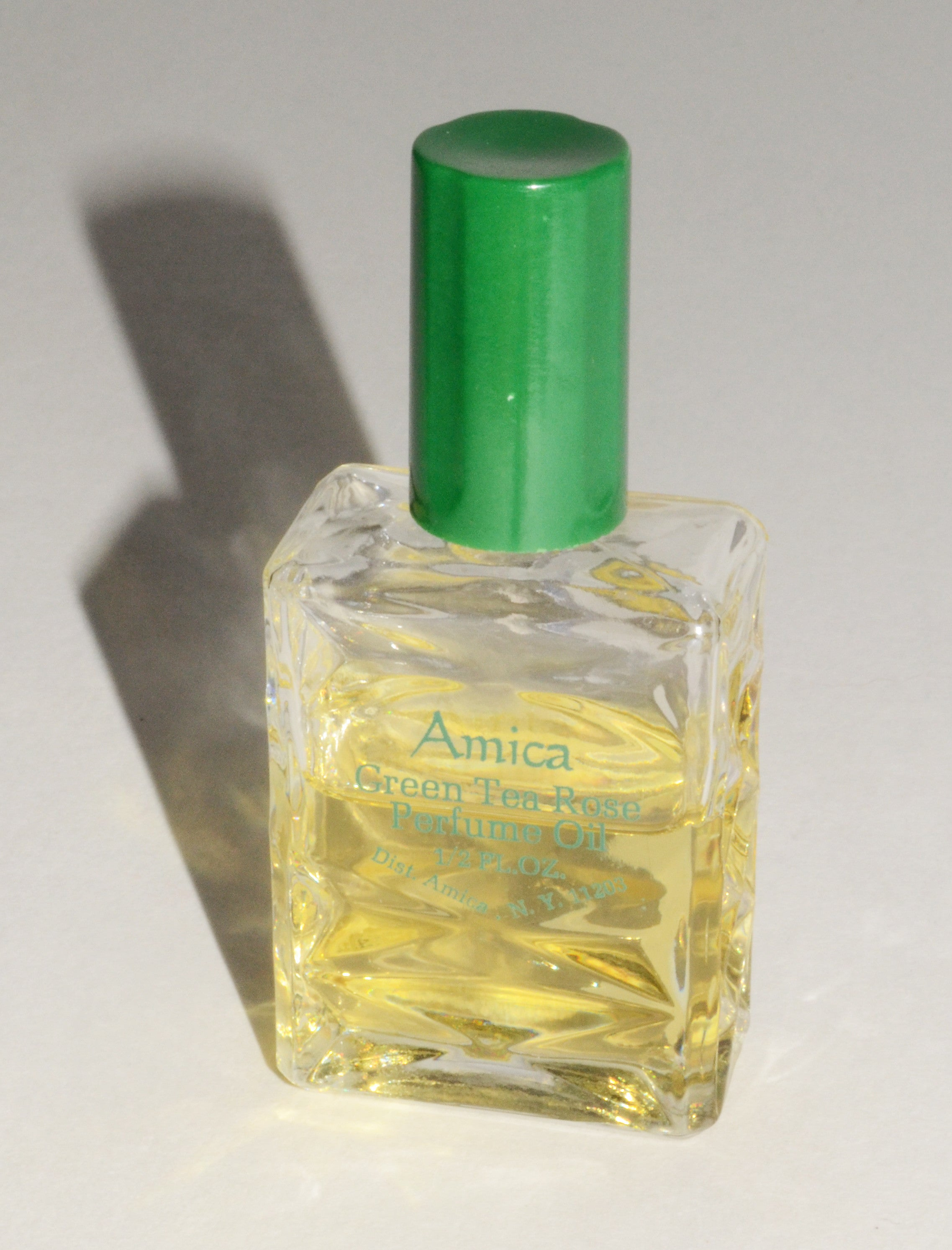 Vintage Green Tea Rose Perfume Oil By Amica