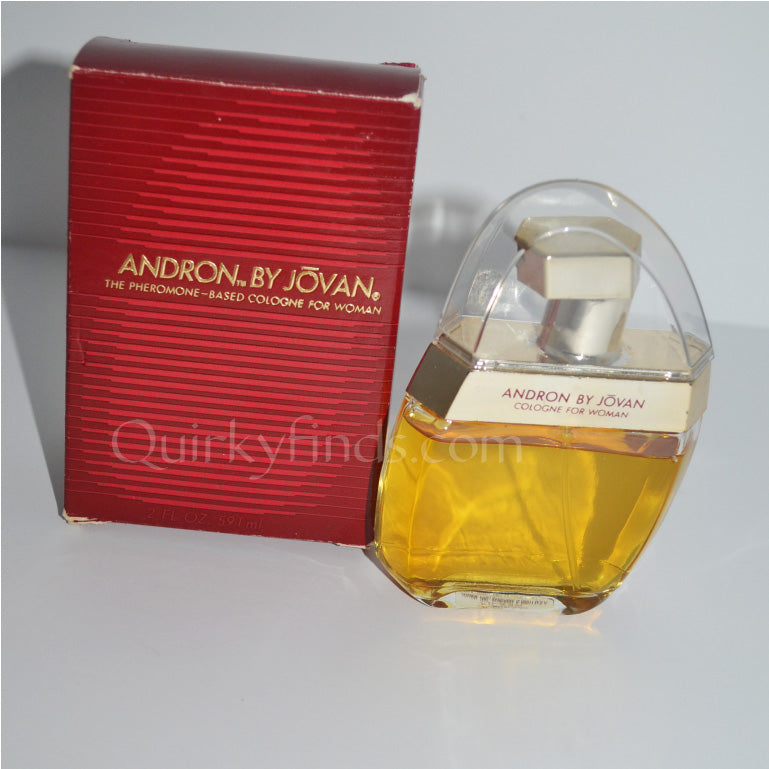 Vintage Andron Cologne For Women By Jovan