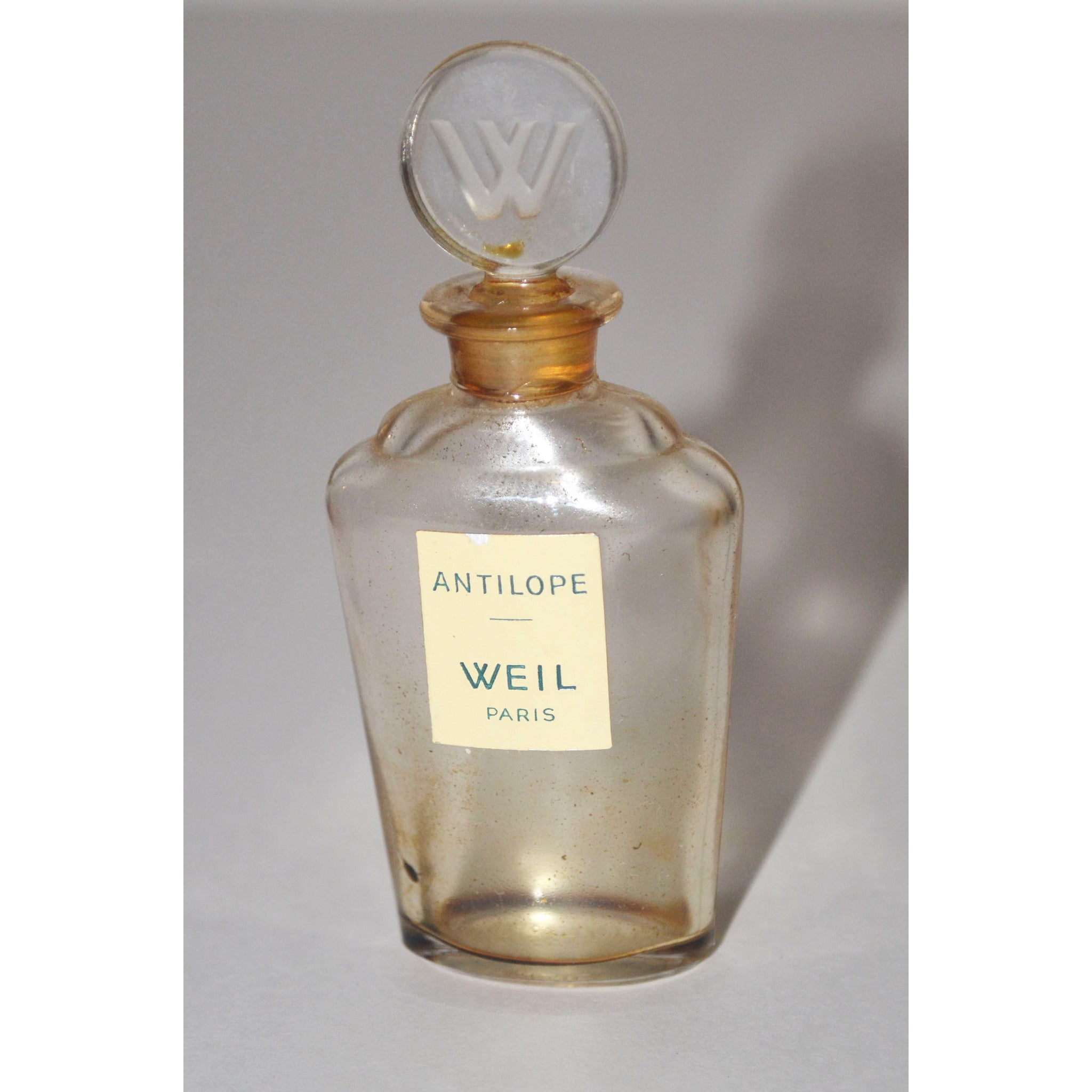 Vintage Antilope Perfume Bottle By Weil