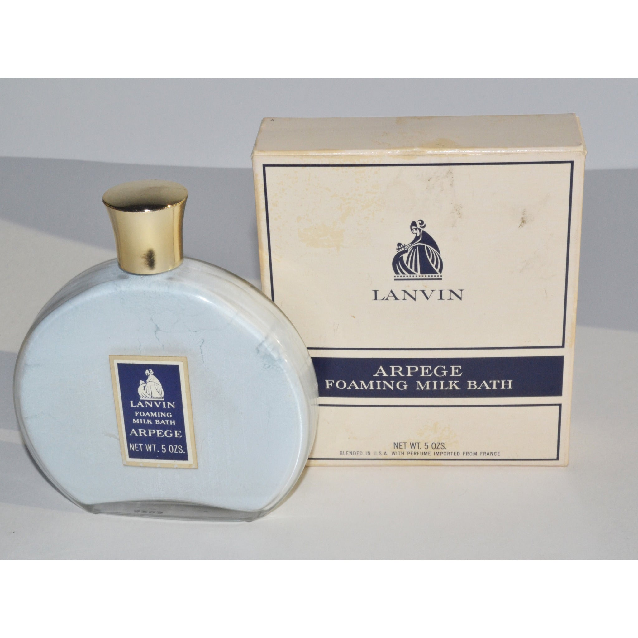 Vintage Arpege Foaming Milk Bath By Lanvin