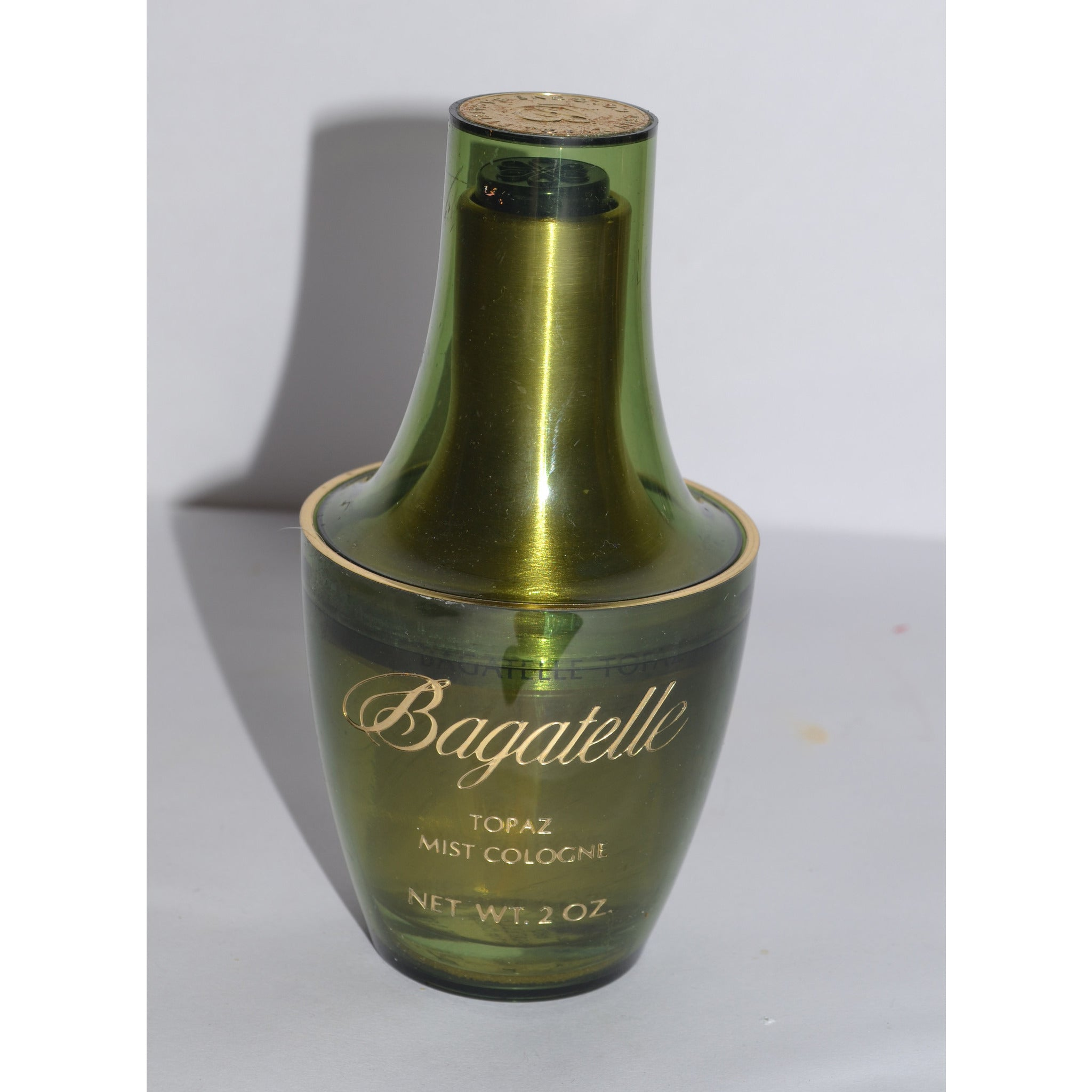 Vintage Bagatella Topaz Cologne By Conrad Co.