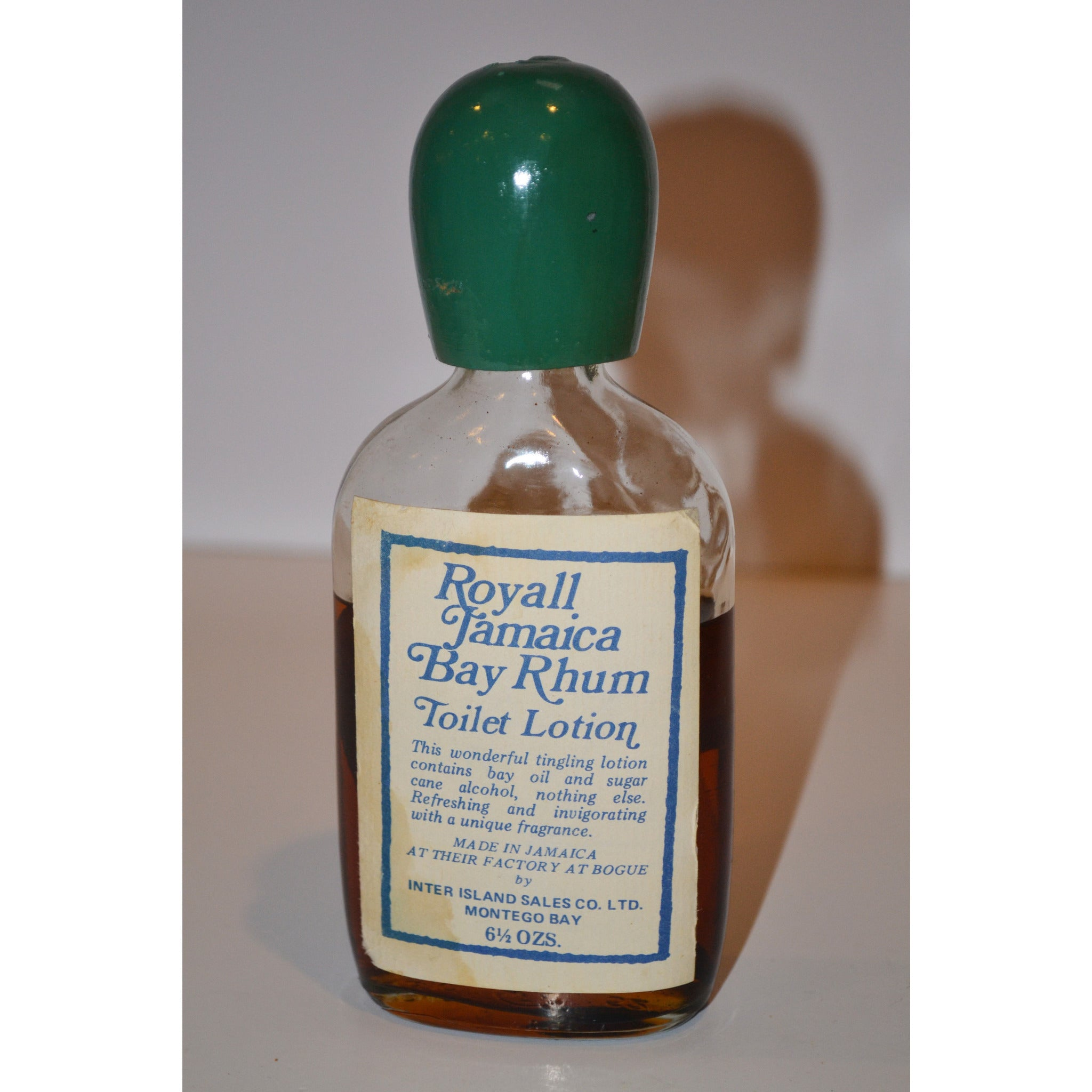Vintage Bay Rhum Toilet Lotion By Royall Jamaica
