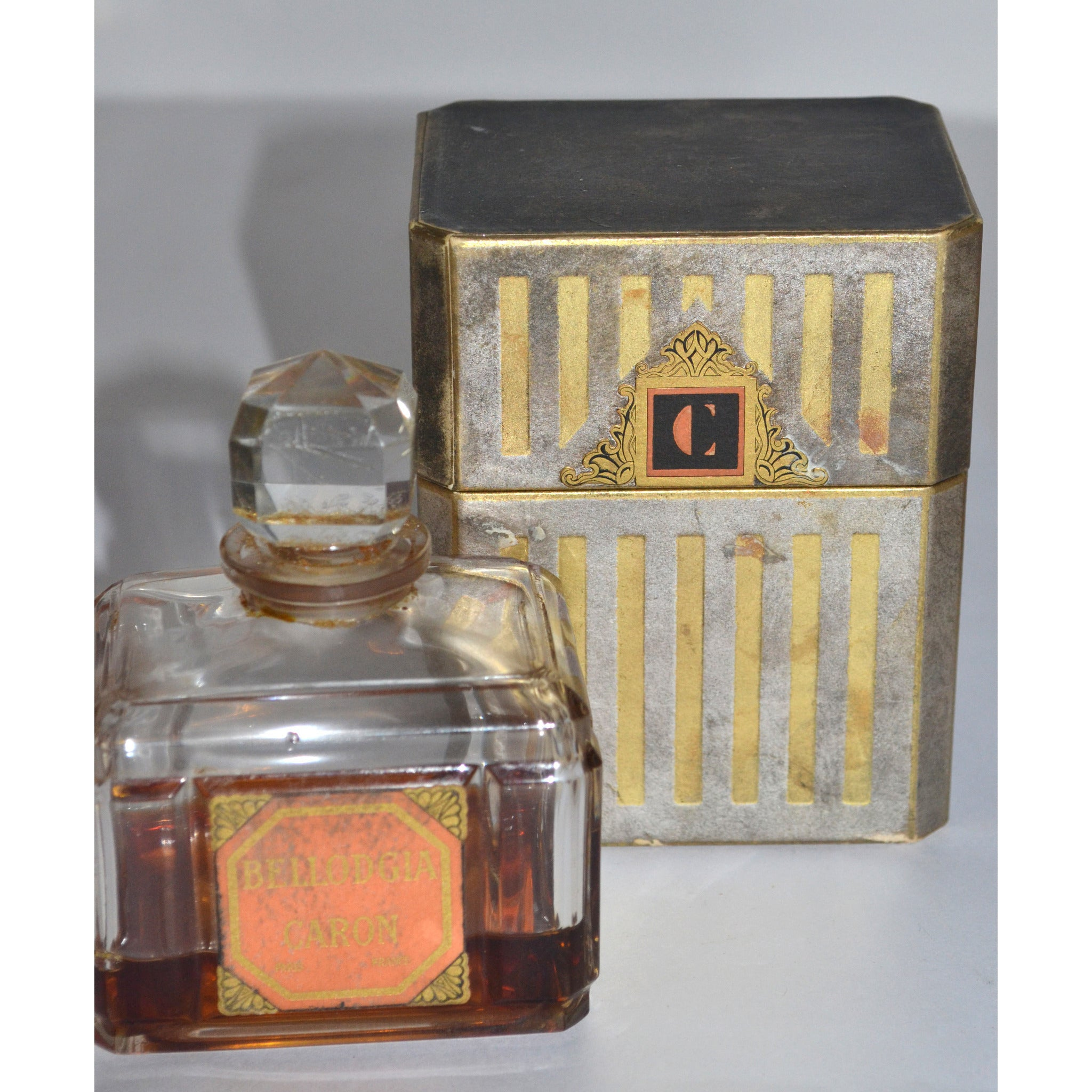 Vintage Bellodgia Baccarat Perfume Bottle By Caron