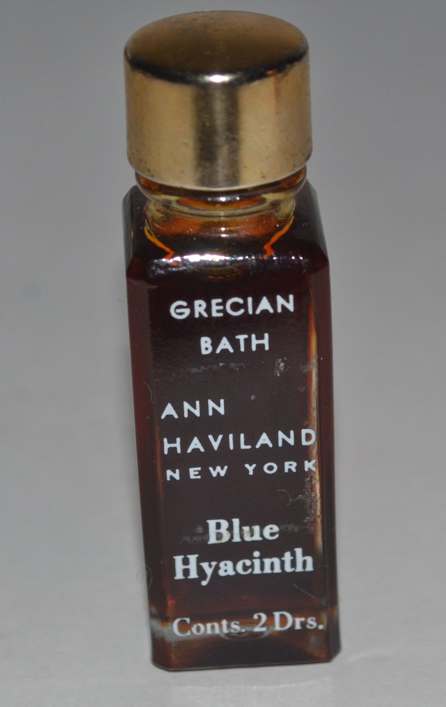 Vintage Blue Hyacinth Grecian Bath Mini By Ann Haviland