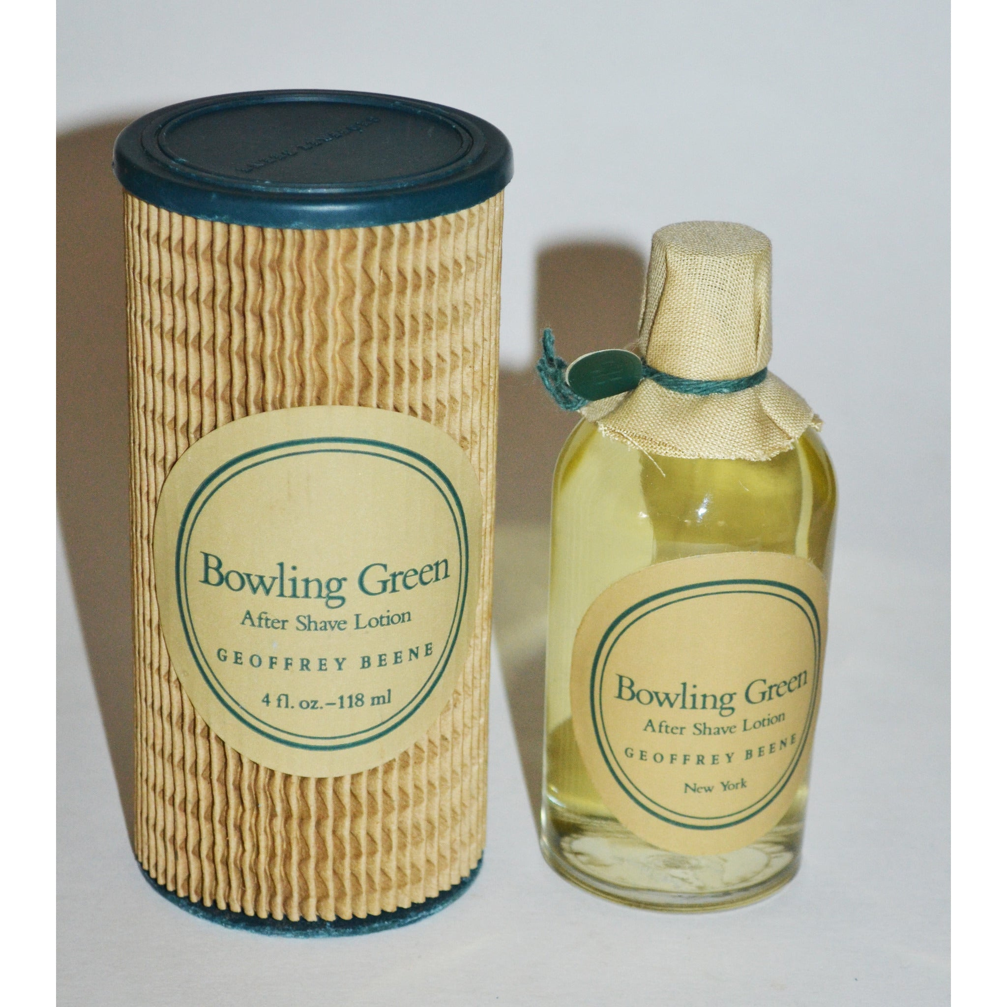 Vintage Bowling Green After Shave By Geoffrey Beene