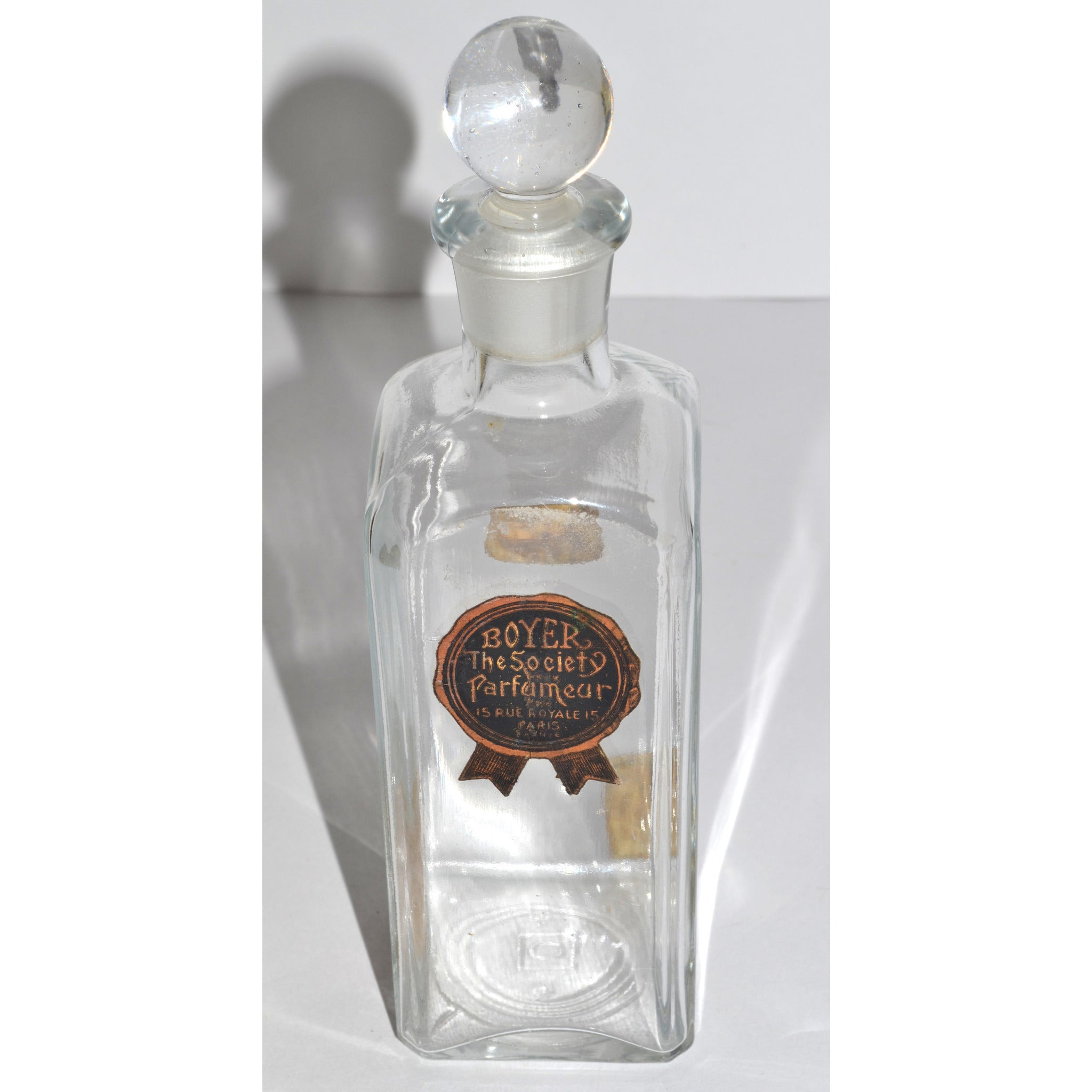 Antique Flowers Of Beauty Bottle By Boyer Parfumer