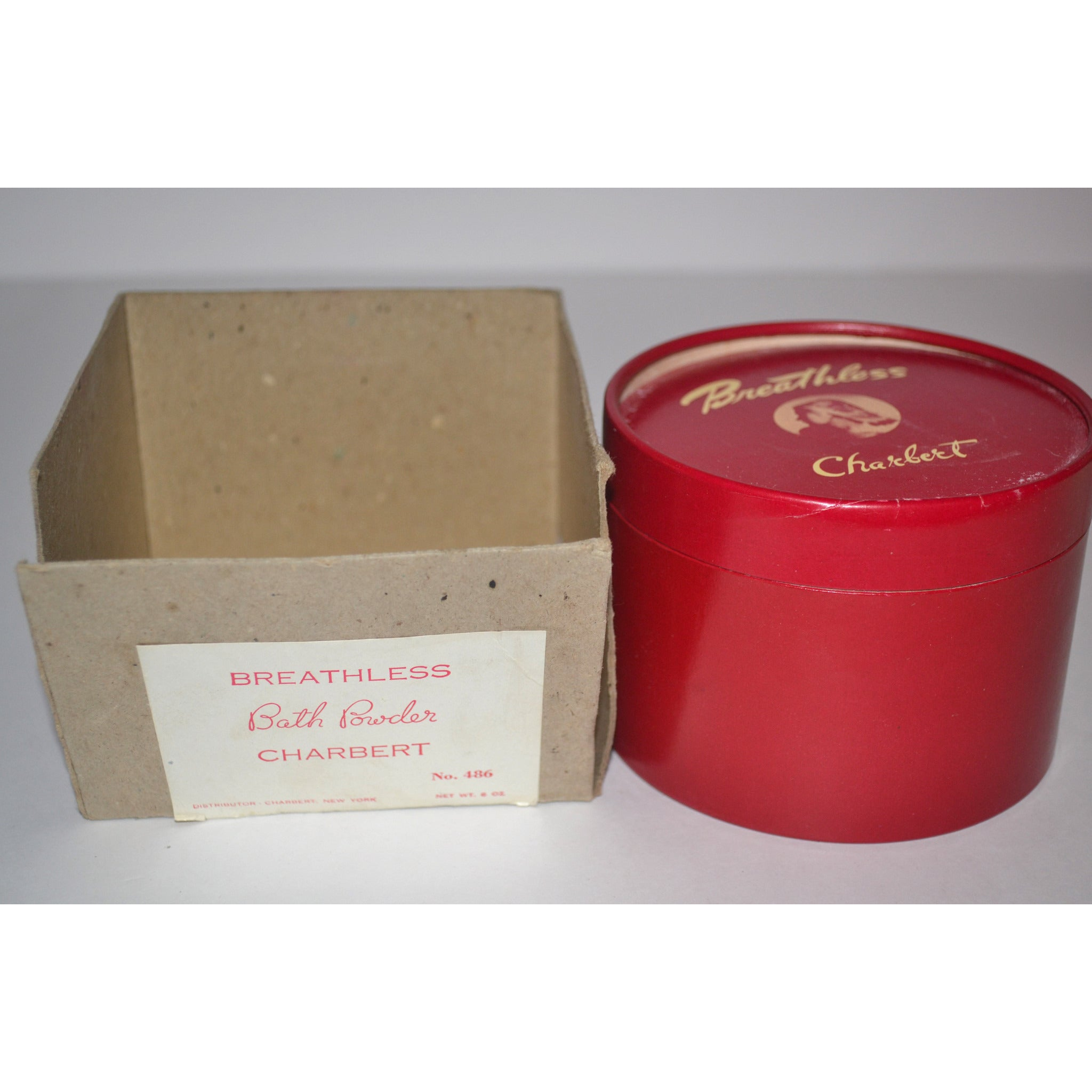 Vintage Breathless Bath Powder By Charbert
