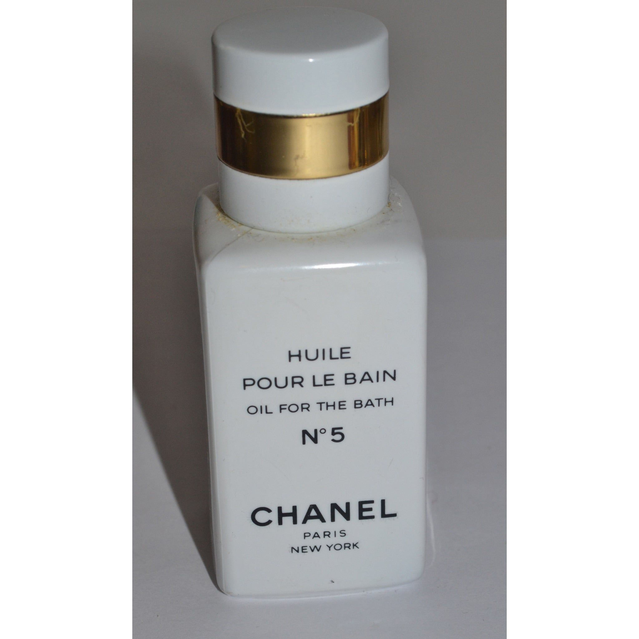 Vintage Chanel No 5 Bath Oil