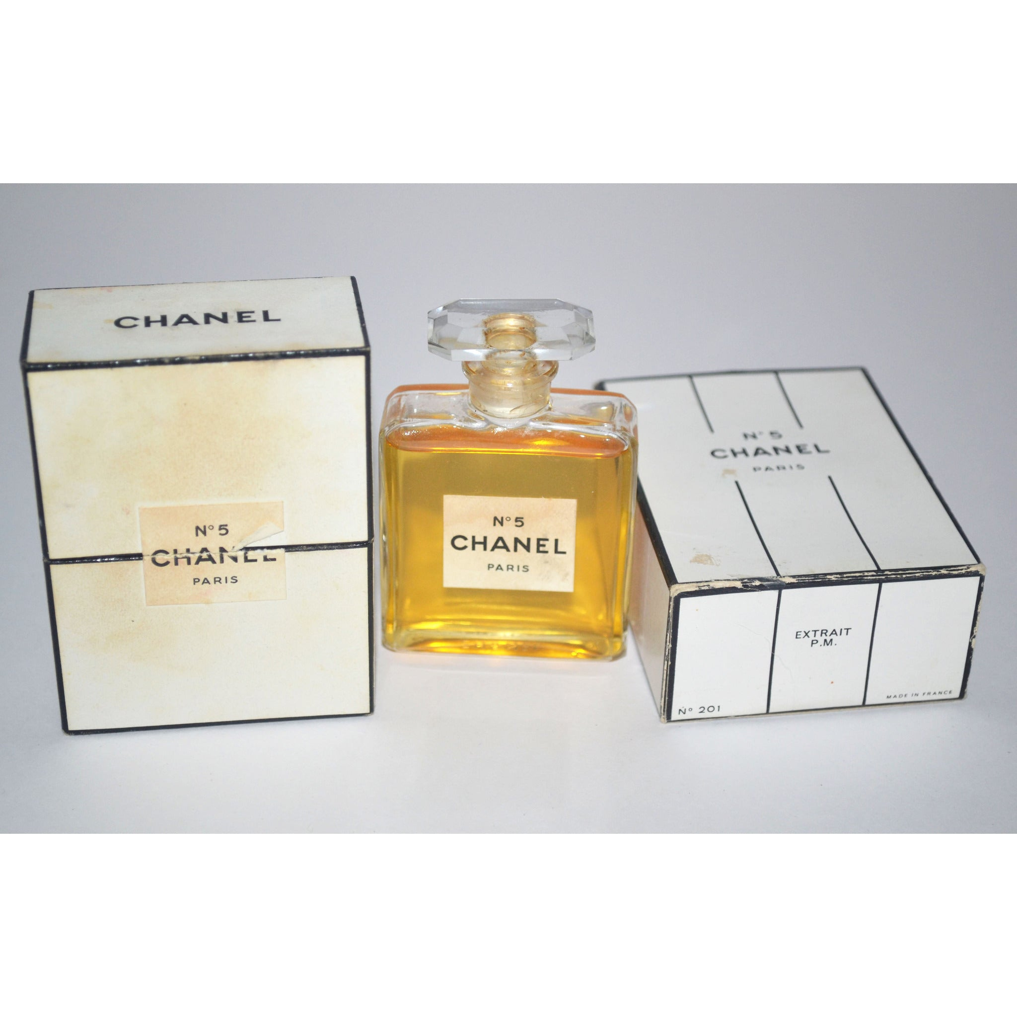 Vintage Chanel No 5 Perfume Extrait
