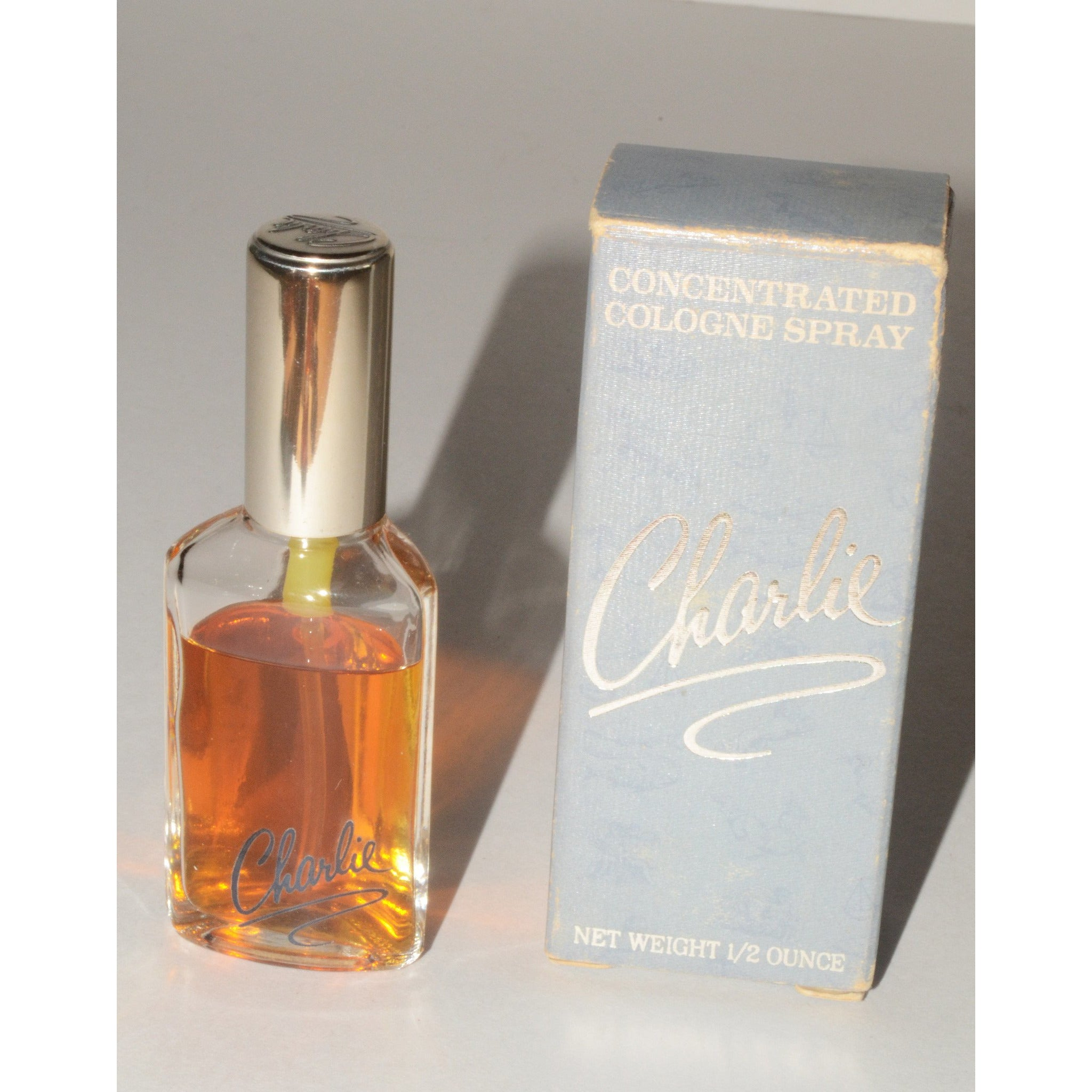 Vintage Charlie Concentrated Cologne By Revlon