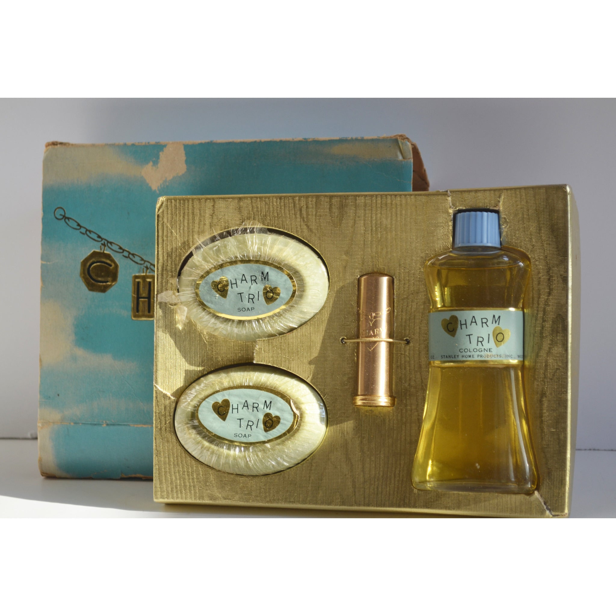 Vintage Charm Trio Cologne Set