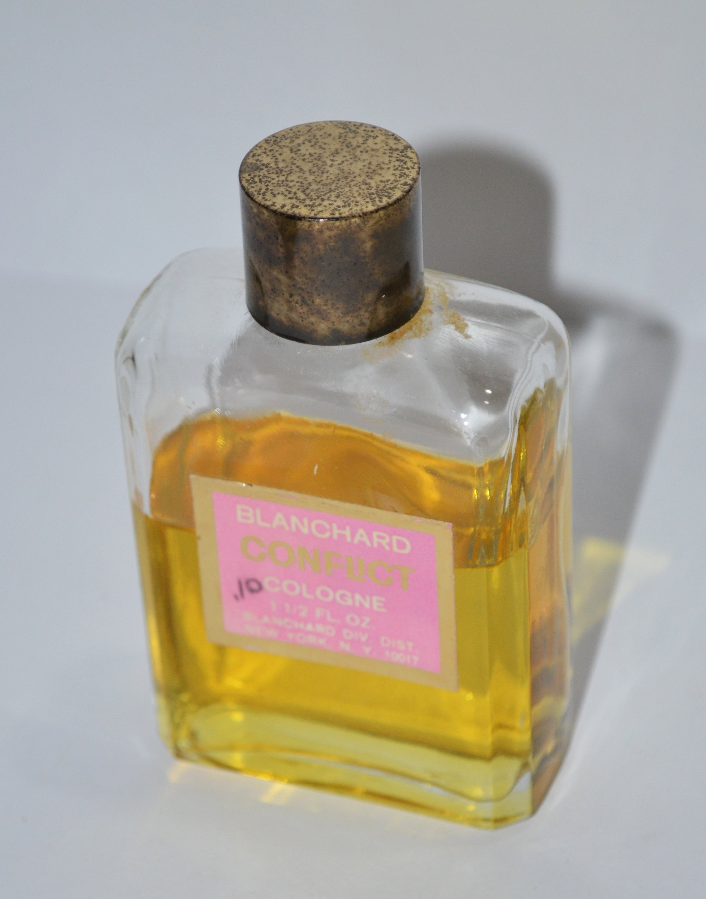 Vintage Conflict Cologne By Blanchard
