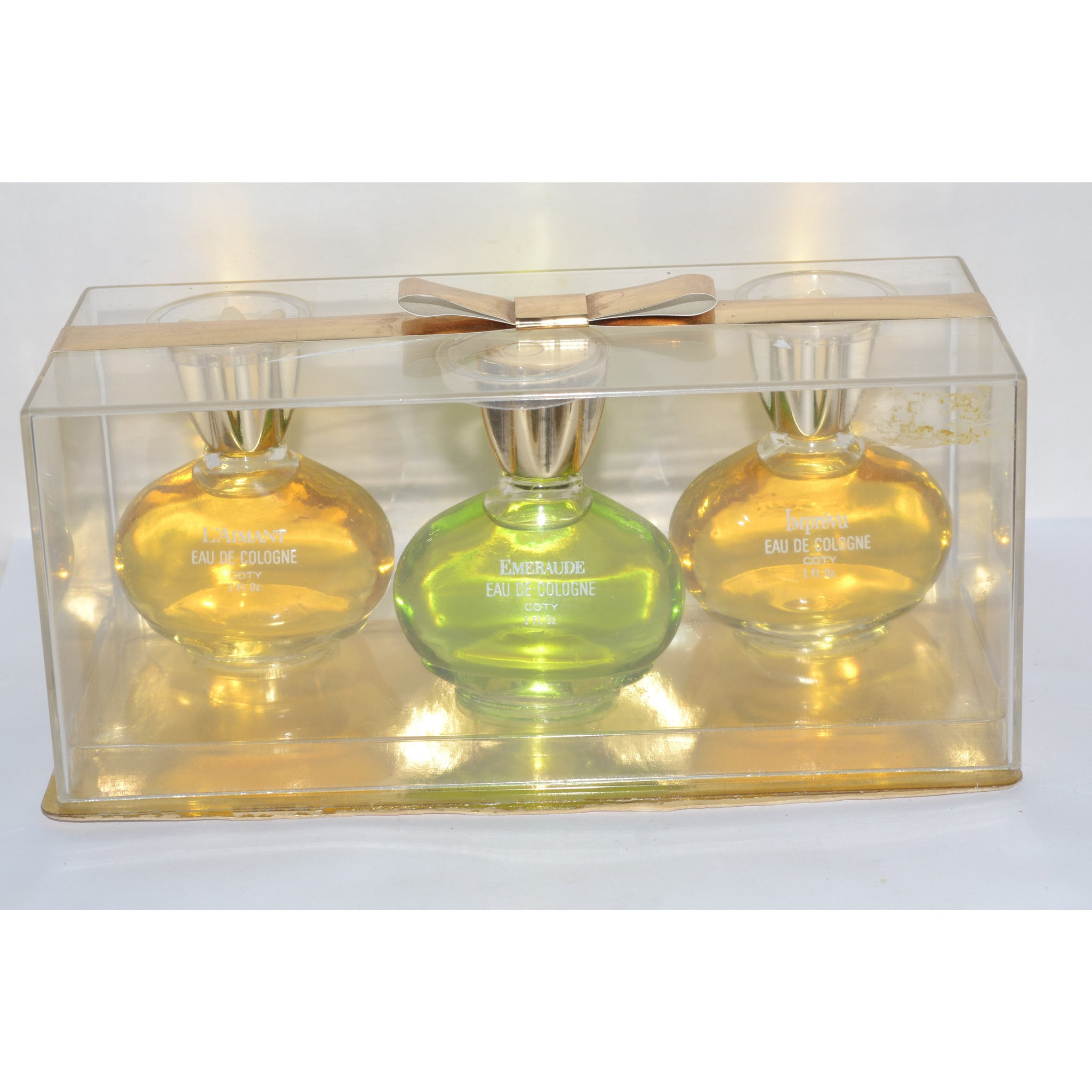Vintage Coty Cologne Set
